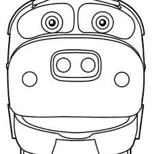 koko chuggington coloring koko chuggington