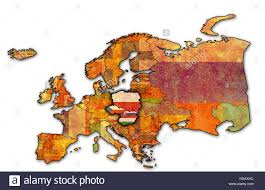 Map Of Europe Political by Political Map Of Europe With Flags Of Memeber Countries Of
