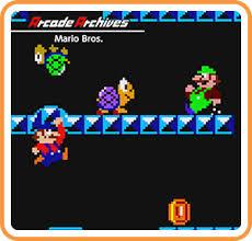 arcade archives mario bros nintendo switch nintendo game