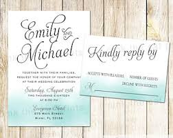 Popular Personal Wedding Invitation Cards Teal Wedding Invites