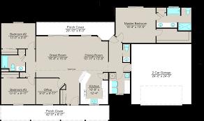 Garage Office Plans Lexar 1801 House Plan 3 Bedrooms 2 5 Bathrooms With 2 Car Garage