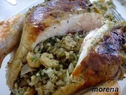 cuisine marocaine poulet farci okla poulet farci au riz et crevettes