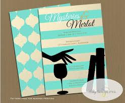 book club invitation wine and books girls night