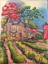 amazon com posh coloring book thomas kinkade designs for