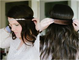 headband roll two easy hairstyles for the hairstyle challenged still