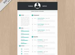 resume stock illustration colorful cool resume cv template new