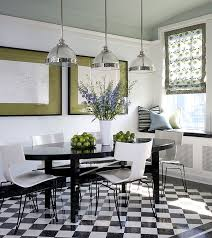 White Dining Table With Black Chairs Modern Dining Table Chairs For The Stylish Contemporary Home