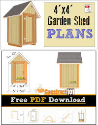 Free Diy Shed Building Plans by 29 Best Shed Plans Images On Pinterest Free Shed Plans Garden