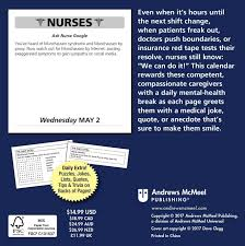 nurse quote gifts nurses 2018 day to day calendar jokes quotes and anecdotes