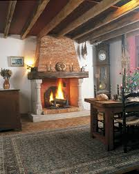 fetching picture of home interior decoration using fireplace heart