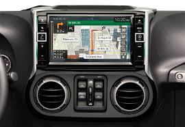 jeep wrangler navigation system alpine restyle 9 touch screen all weather dash system for 2011 17