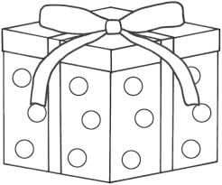 christmas present coloring pages coloring page