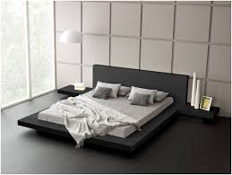 Modern Platform Bed Frame Bedroom Modern Platform Bed Frame Queen Modern Black Platform