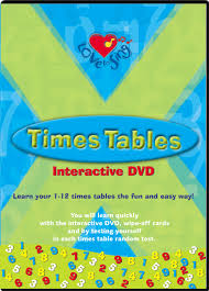 fun ways to learn your multiplication tables times tables multiplication dvd educational kids songs