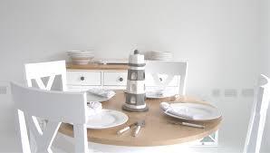 White Round Kitchen Table Set Furniture Captivating White Round Kitchen Tables Oak Round