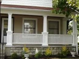 Vinyl Porch Railing Installation Toronto GTA  YouTube