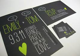 and black wedding invitations green and black invitations modern wedding