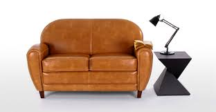Two Seater Couch Jazz Club 2 Seater Sofa In Cognac Made Com