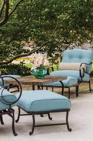 Patio Furniture Conversation Set - oceana 6 piece outdoor conversation set w deep seat cushions