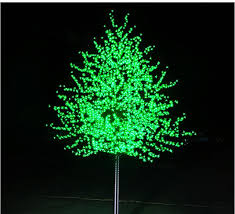 cheap christmas trees with lights free shipping 1 5meter 648leds artificial peach blossom led blossom
