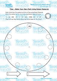 roman numerals clock worksheet roman numerals worksheet ks2