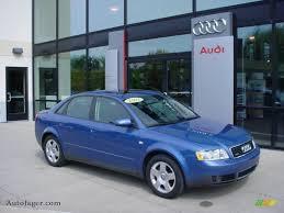 2003 Audi A4 Sedan 2003 Audi A4 1 8t Quattro Sedan In Denim Blue Pearl Effect