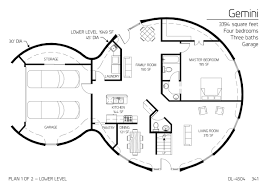 round garage plans two floor round home with garage alternative homes pinterest and