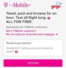 how does t mobile inflight wifi work one mile at a time