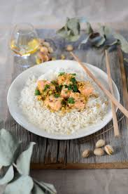 cuisine lait de coco the coconut and pistachio salmon curry recipe tangerine zest