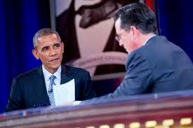 President Obama Resume President Obama Learns How To Interview With Stephen Colbert Time