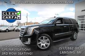 cadillac escalade 2017 lifted used 2017 cadillac escalade for sale lansing mi