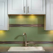 aspect 3 in x 6 in glass decorative wall tile in fresh sage 8