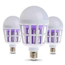 bug repellent light bulbs e27 dual use electric led night light bug zapper light bulb mosquito