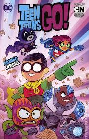 teen titans tpb 2015 2017 dc comic books