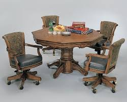 round poker table with dining top magnificent poker table combination dining tables of cozynest home