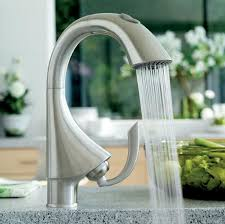 grohe k4 kitchen faucet k4 single handle pull out prep sink faucet with dual spray touch