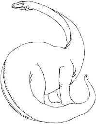 brontosaurus coloring pages getcoloringpages