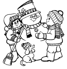 Online Snowman Coloring Page Printables Hubpages Coloring Page Of