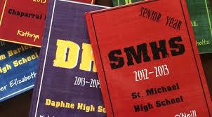 book for high school graduate hardcover memory book high school senior year class of