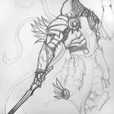 photo collection diablo angel drawing 3