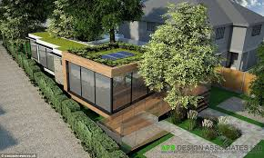 eco house design plans uk architects build eco friendly home around trees to avoid chopping