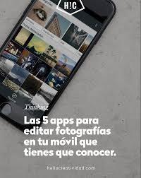 Revista Gadgets Las Mejores Aplicaciones Las 5 Apps Para Editar Fotos En Tu Movil Que Tienes Que Conocer