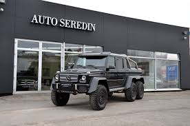 mercedes benz 6x6 mercedes benz g 63 amg 6x6 exclusive 1 of last cars new buy in