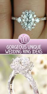 unique engagements rings images 10 gorgeous unique wedding ring ideas skinny ninja mom png