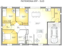 plan maison en l plain pied 4 chambres luxe plan maison plain pied 4 chambres avec suite parentale idées