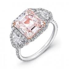 Pink Wedding Rings by Pink Diamond Engagement Rings Rare Engagement Rings