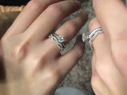 infinity wedding rings 2018 infinity band wedding rings