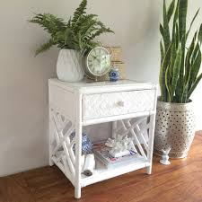 white wicker side table furniture cream wicker side table bedside furniture cape town