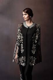 Pakistani Party Wear Embroidered Shirts Designs 2017 2018