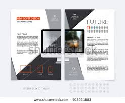flyers template vector photography brochure report stock vector